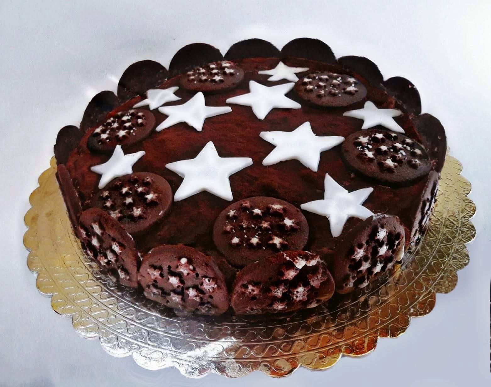 Torta Pan Di Stelle Ricetta Senza Cottura Amiche Al Cioccolato